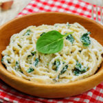 Easy Lemon Ricotta Pasta & Spinach
