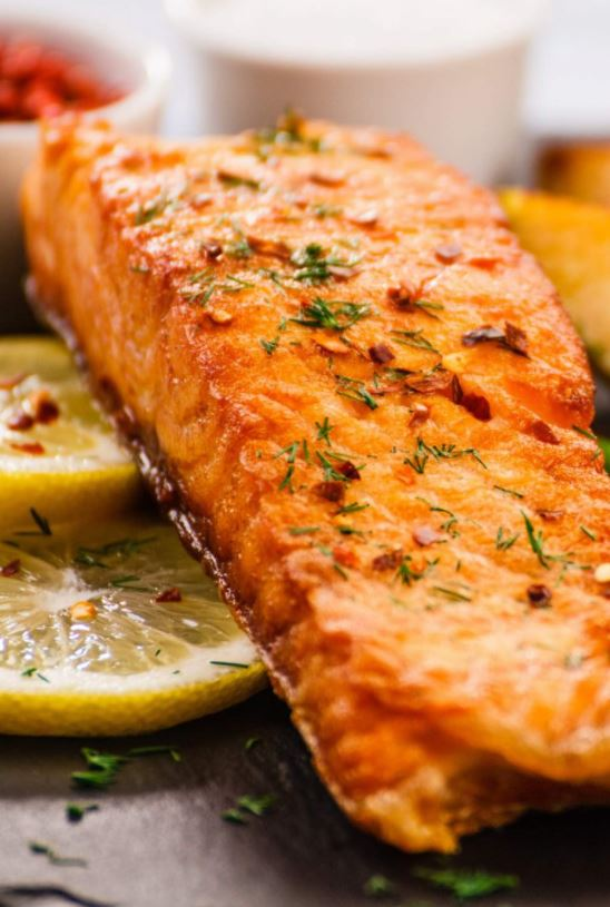 Easy Griddled Salmon from Best Electric Skillet