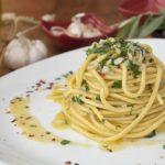 Garlic And Olive Oil Spaghetti