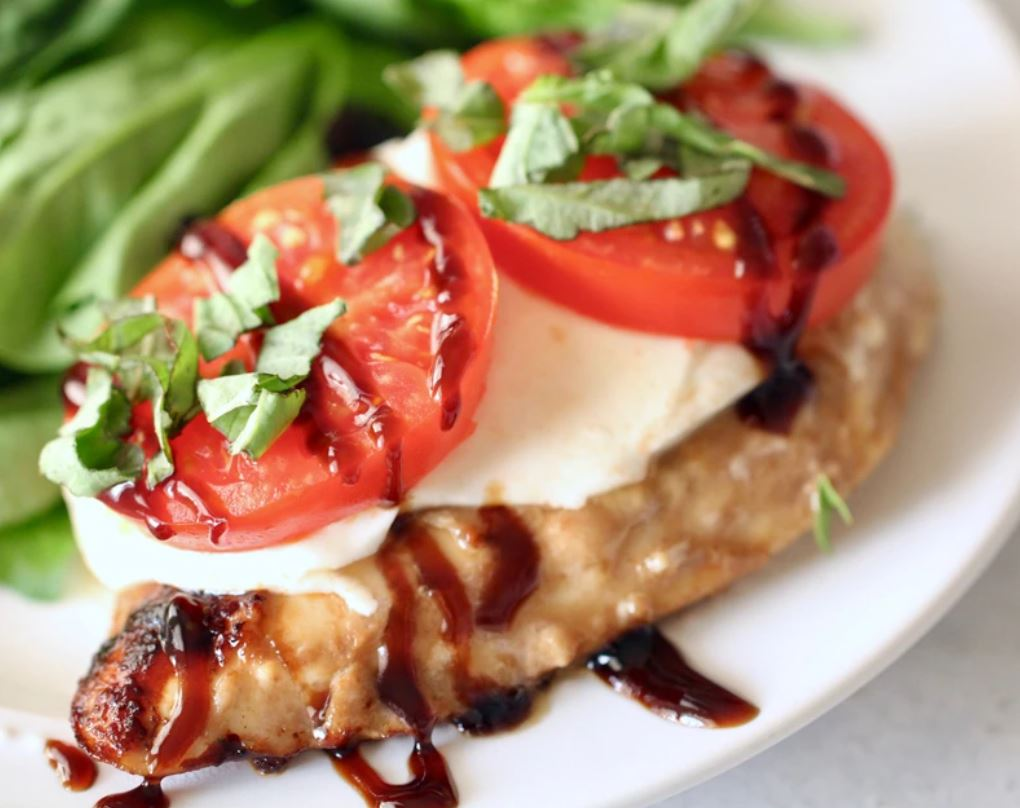 Marinated Caprese Chicken from Blackstone Products