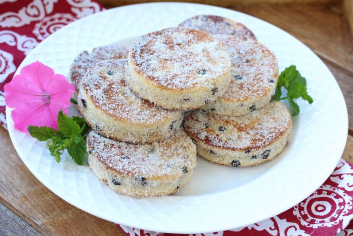 Traditional Welsh Cakes from King Arthur Baking