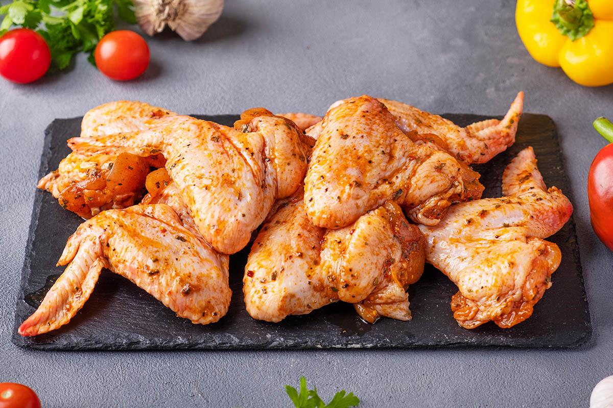 Marinated,Chicken,Wing